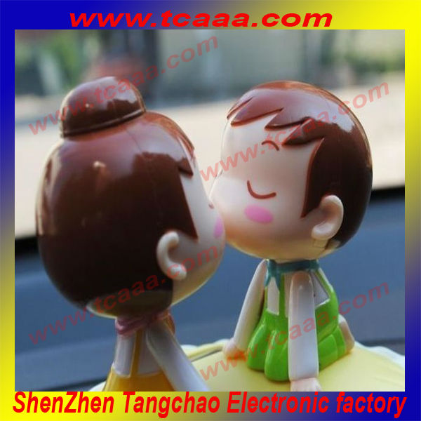 solar dancing toys/ solar nodding dolls