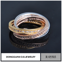 New fashion 14k fashion love's set ring for couple , gold wedding rings set