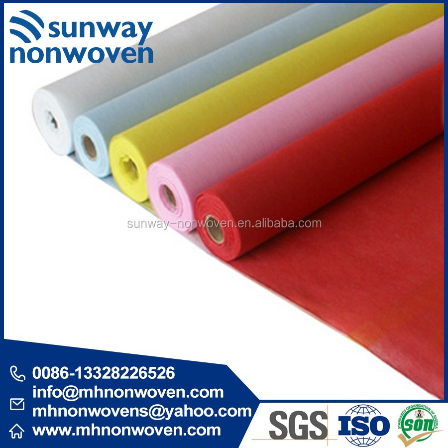 2017 New Printed Pet Spunbond Nonwoven Fabric