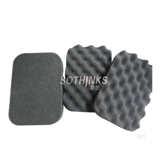 Breathable sound proofing pu sponge acoustic absorb polyurethane foam roll material