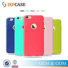 High Quality For iPhone 7/ 7 Plus Slim Luxury TPU Silicone Mobile Phone Covers and Cases