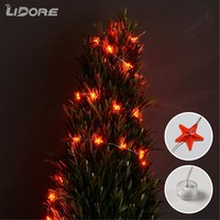 LIDORE Outdoor decorative Christmas led Little star string light led copper string lights