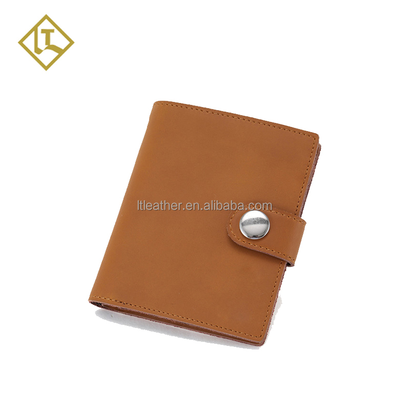 Premium Mens handmade hight quality minimalist Credit Card Holder Slim mens Wallet leather wallet