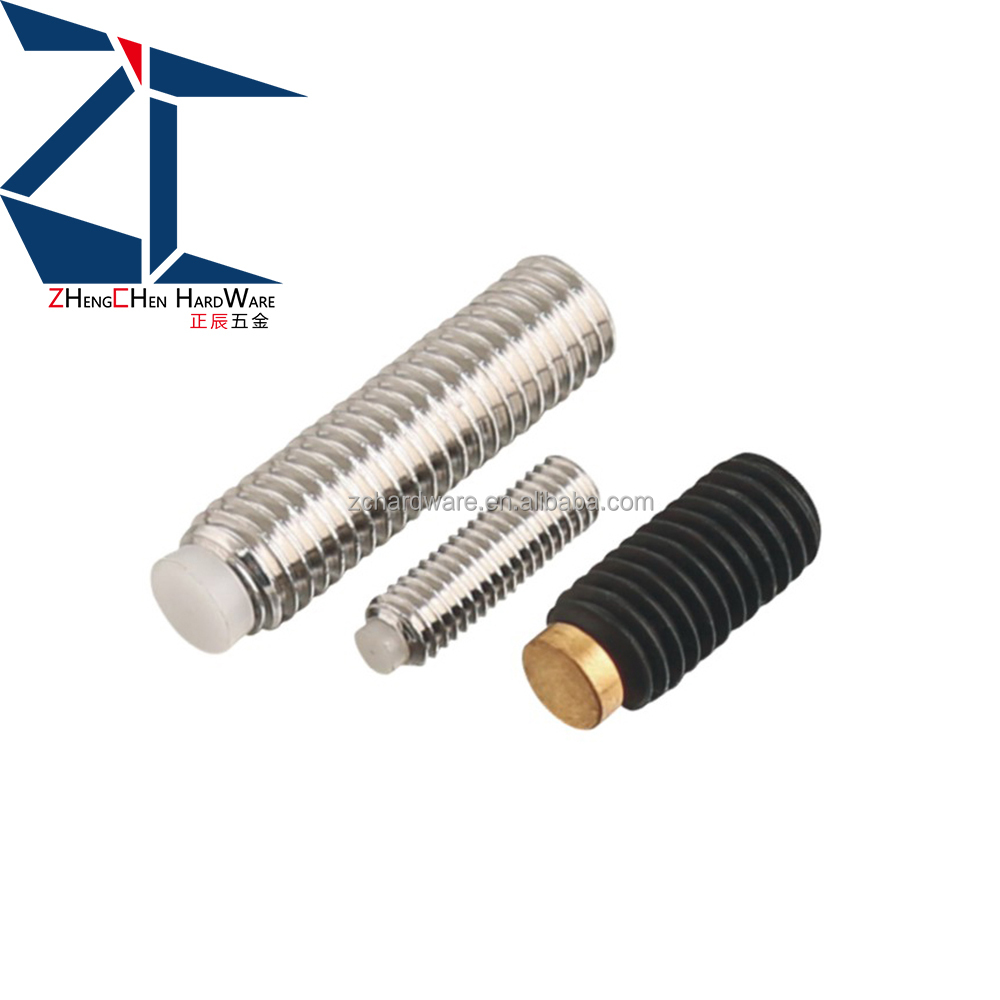 18-8stainless steel socket set screws soft tip type made in China