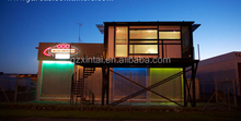 Wooden/ luxury living container house / prefabricated glass contianer home for plans