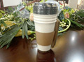 12/16OZ hot coffee paper cup with lid and sleeve