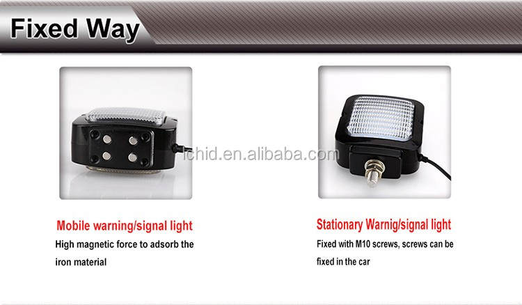 Orginal Manufacturer with Competitive price 4 inch Square 18W LDWL 023E LED Warning work light