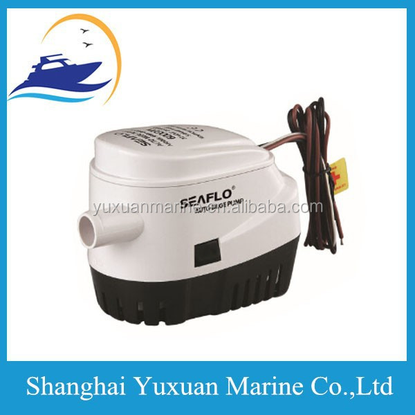 Promotional 750 GPH Automatic Bilge Pump Marine Boat Built in Float Water Pump