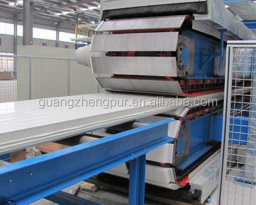 PU steel purification sandwich panel for prefab houses and handmade type is also available