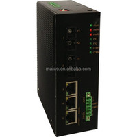 MIEN3205C VLAN support 5 PORT GIGABIT POE SWITCH with 5 ethernet port