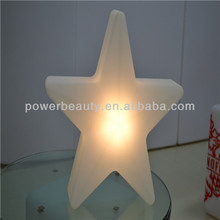 Plastic led light Star decorations for Christmas/ party /outdoor