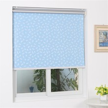 automatic motorized fire retardant roller blinds