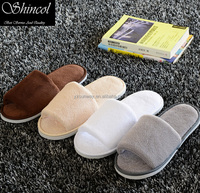 2016 well sales good quality hotel slippers