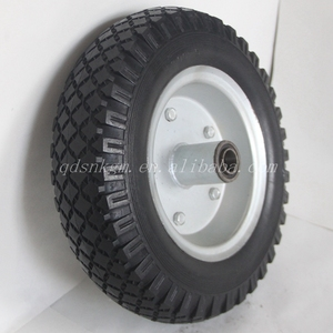 12 Inch Solid Rubber Tires Cart Wheels