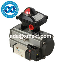 double acting(DA) pneumatic rotary actuators for valve with limit switch box