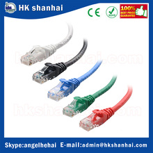 Hot sale 5 pack ethernet cable rj45 network cat6 cable patch cord 1.5M 2M 3M 5M computer LAN internet cable