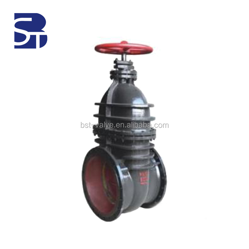 DIN GOST A216 Rising Stem Bolted Bonnet Stellite Trim Flexible Wedge Flanged Lockable PTFE lined 6 inch Gate Valve