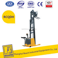 Good quality new arrival 24v electric reach truck forklift