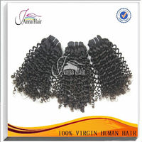 Great quality kinky curly virgin human hair weft