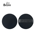 "Belifa 4"" large black pure cotton powder puff"