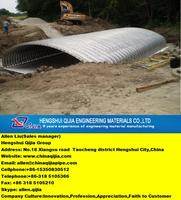 top five original factory of corrugated steel culvert pipe manufacture by Qijia which are famous of all world