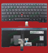 For Lenovo ThinkPad T431s T440 T440p Laptop Keyboard US Black With Backlight