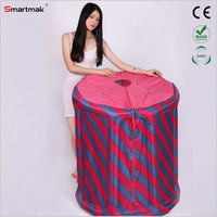 Inflatable portable girl sauna shower room