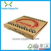 Take Away Brown Kraft Paper Custom Pizza Box