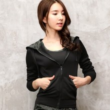 Ladies Sports Coats Apparel Gym Wear Trendy Plain Sports Yoga Jackets For Women