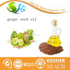 Natural organic cold pressed extra virgin grape seed oil