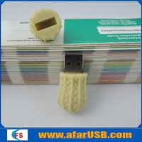 Peanut usb flash drive cartoon food usb flash drive 3.0
