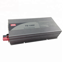 Meanwell TS-1500-124A Ture Sine Wave 1500W 24V To 110V Power Inverter DC To AC