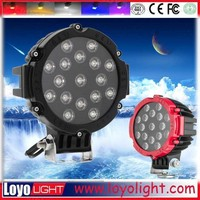 7 inch working lights 51w car led spot light 12v for mining, agricultural and heavy duty machine