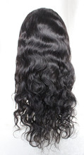 Favorites Compare Best quality indian remy 20' 1b# natural wave right side u part wig ,paypal acceptable