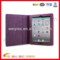 Smart cover leather case for ipad mini hot new products for 2014