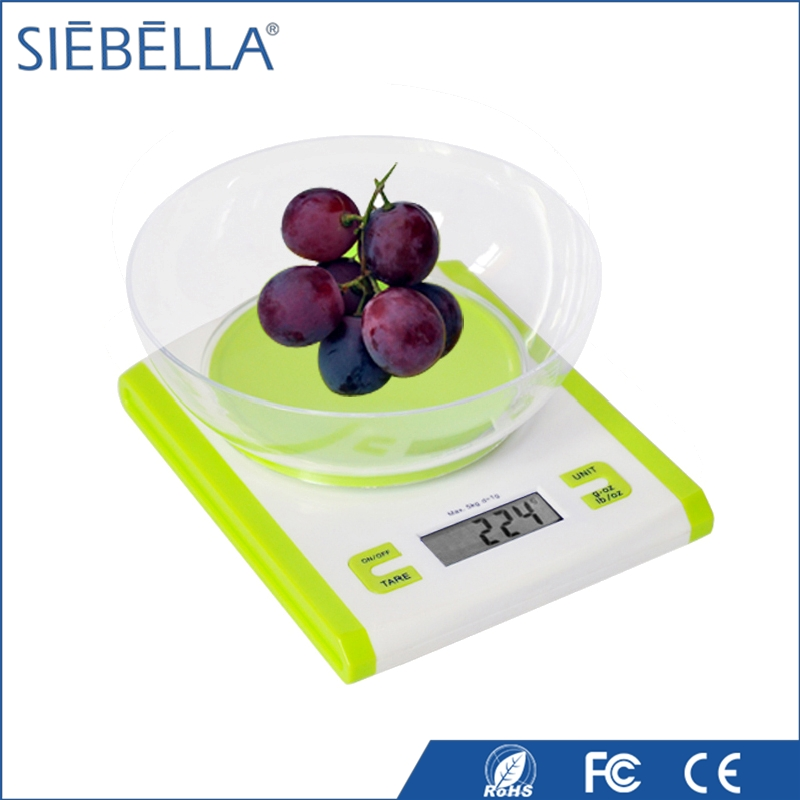 Promotional the best digital ABS weighing plaform scale small food kitchen scale diet