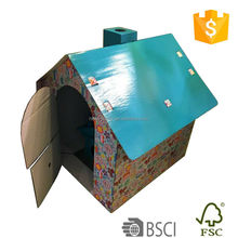 Good quality cardboard dog house