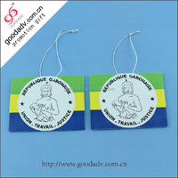 Factory wholesale promotion gift hanging air freshener paper