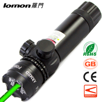 Lomon Green Aluminum Alloy 30 Mw Pistol Visible Laser Pointer