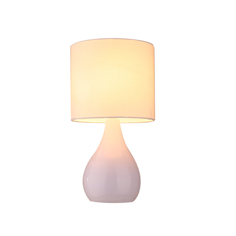 modern ceramic base table lamp, desk light