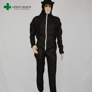 disposable overalls/workwear overall/disposable camouflage coverall
