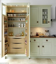 shanghai manufacturer customized simple design pantry cupboards kitchen furniture