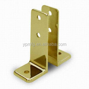 High quality product sheet metal parts l bracket brass