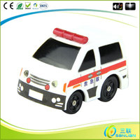 2014 promotional led toy ambulance keychain