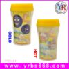 Factory Make Customized Children Double Wall Color Changing Plastic Mug Thermo Travel Mug