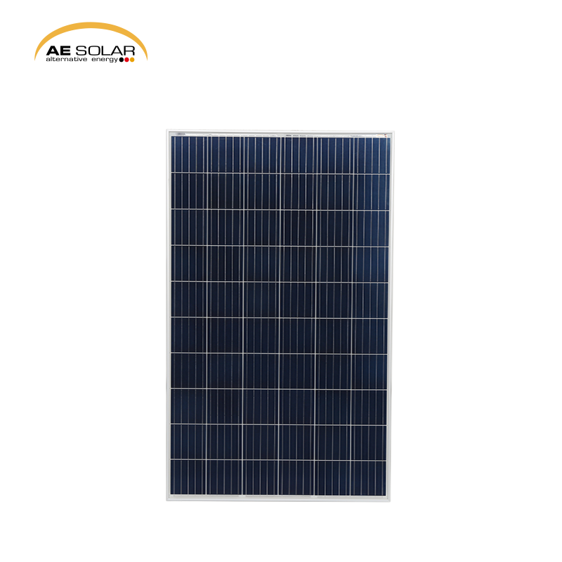 260W Rooftop Photovoltaic panels AE Solar Photovoltaic Module Solar Panels Cheap Price <strong>Poly</strong> 250w 260w Solar Panel