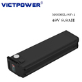 For 18650CC BAK 48v 8.8ah li-ion battery pack for e-bike