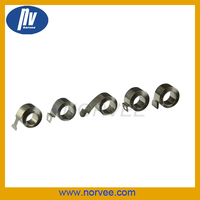 Stainless steel mainspring/ Hole end clock mainspring