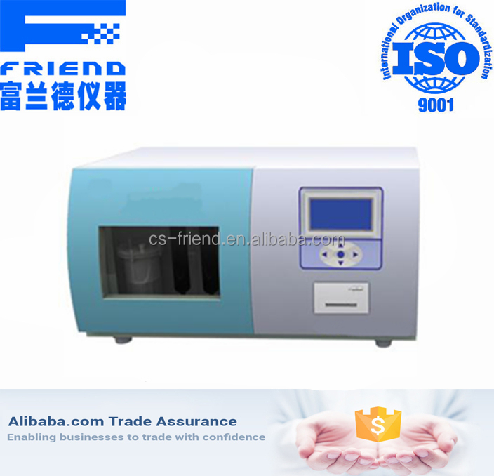 Coulometry coal and petroleum sulfur analyzer