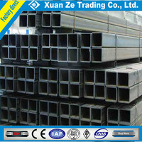 China supply hot dipped galvanized square steel pipe,low carbon steel square tube
